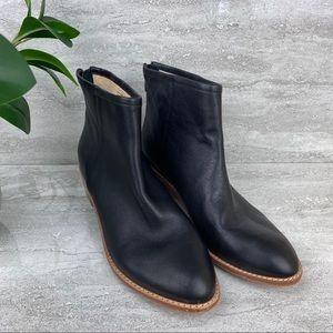 Kristin Cavallari Chinese laundry black tan boots